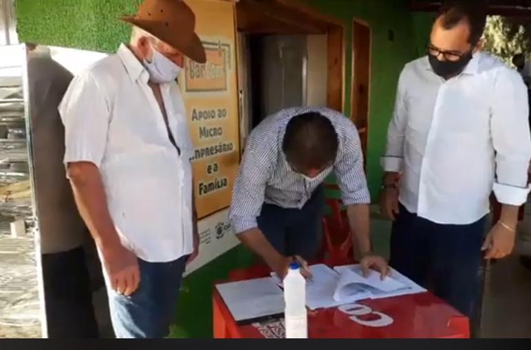 Prefeitura anuncia projeto Barracão Produtivo