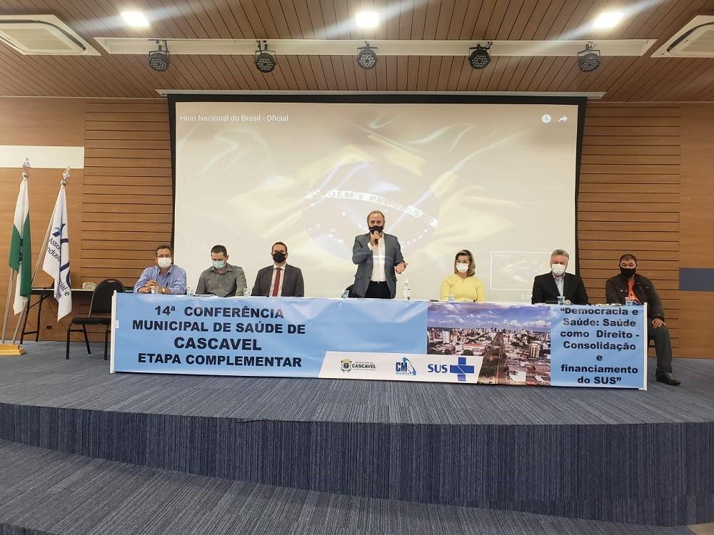 Conferência debate as política públicas de saúde para Cascavel