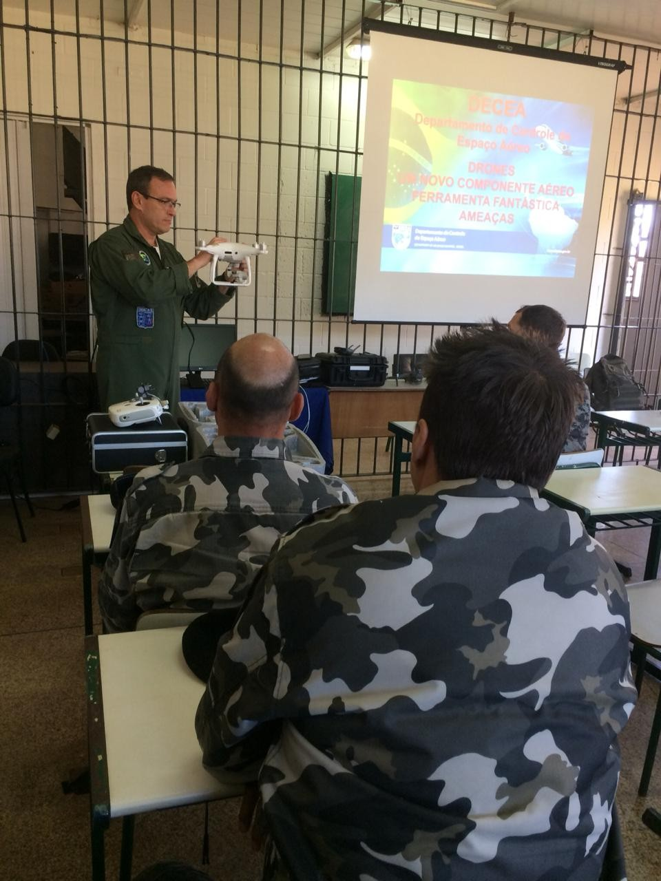 Penitenciárias de Foz serão monitoradas por drones