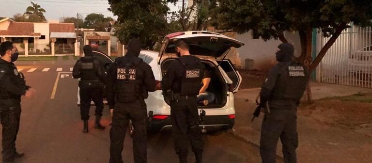 PF cumpre mandados de prisão no presídio de Catanduvas