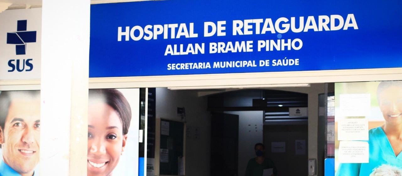 Saúde estuda transformar enfermarias do Hospital de Retaguarda em leitos de UTI