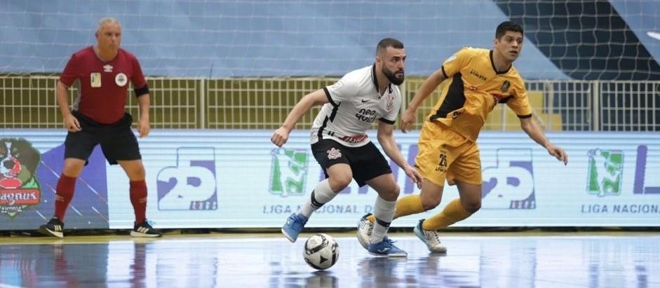 Magnus vence Corinthians por 3x0 e fica com o título da Liga Nacional