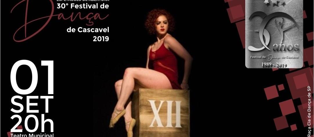 Vem aí o 30º Festival de Dança de Cascavel