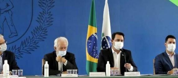 Governo anuncia pacote econômico para empresas do Paraná