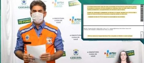Prefeito de Cascavel fala sobre decisão judicial