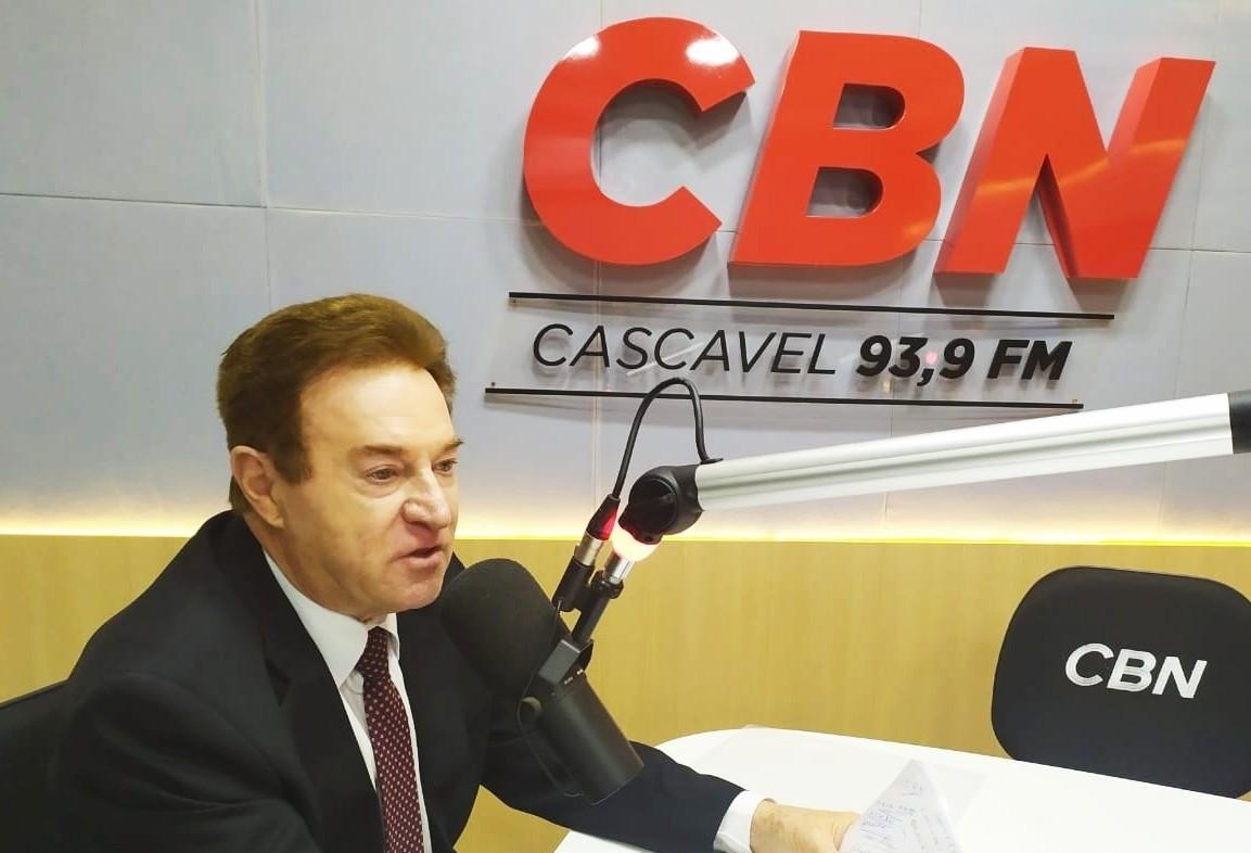 Padovani sofre acidente em Cascavel