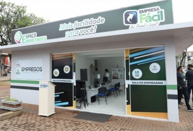 "Inaugurado na Avenida Brasil o ""Espaço Empreender"""