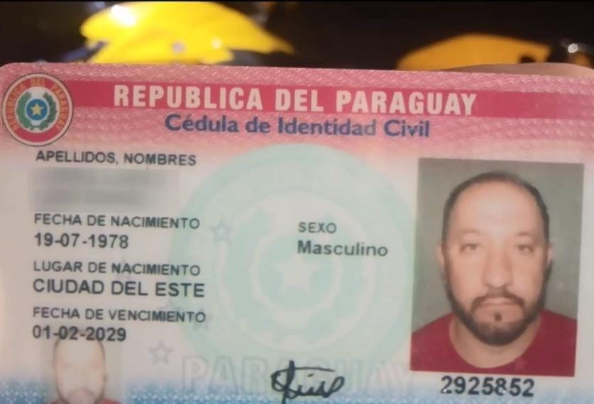 Mototaxista paraguaio morre em acidente