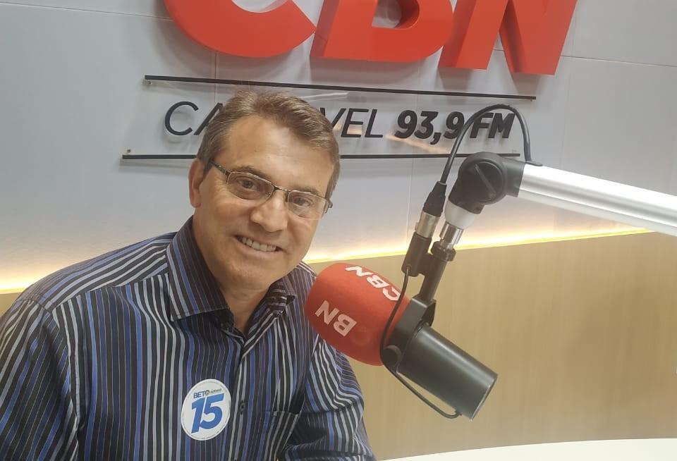 Lunitti destaca propostas de governo e diz porque quer voltar a ser prefeito de Toledo