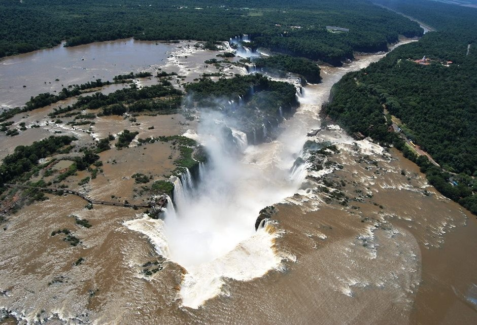 Foz do Iguaçu é um dos principais destinos dos turistas