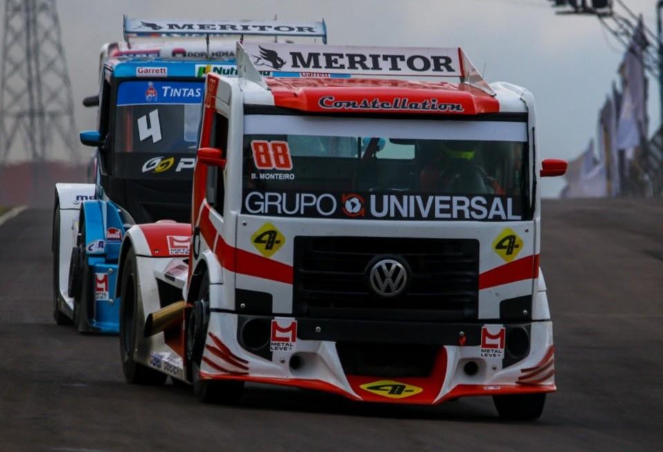 Monteiro vence segunda prova de abertura da Copa Truck 2020 em Cascavel