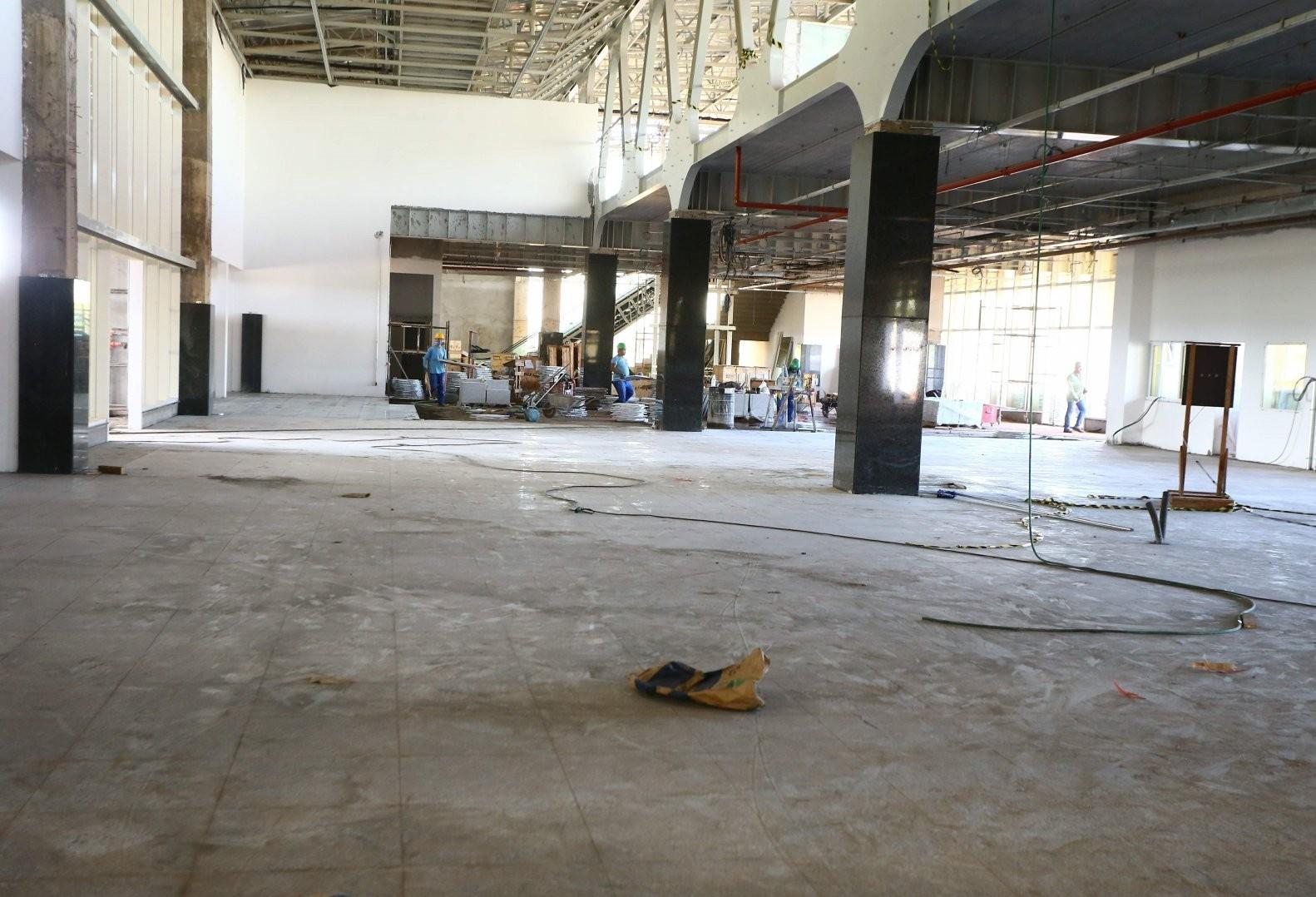 Empresa pede mais prazo para concluir o Terminal de Passageiros