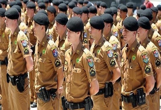 Concurso da Polícia Militar do Paraná abre inscrições
