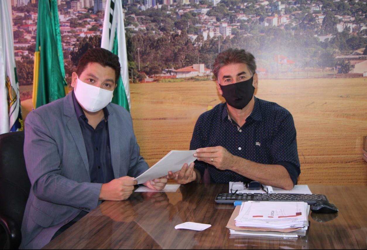 Paranhos indica Gugu Bueno como representante de Cascavel na Assembleia
