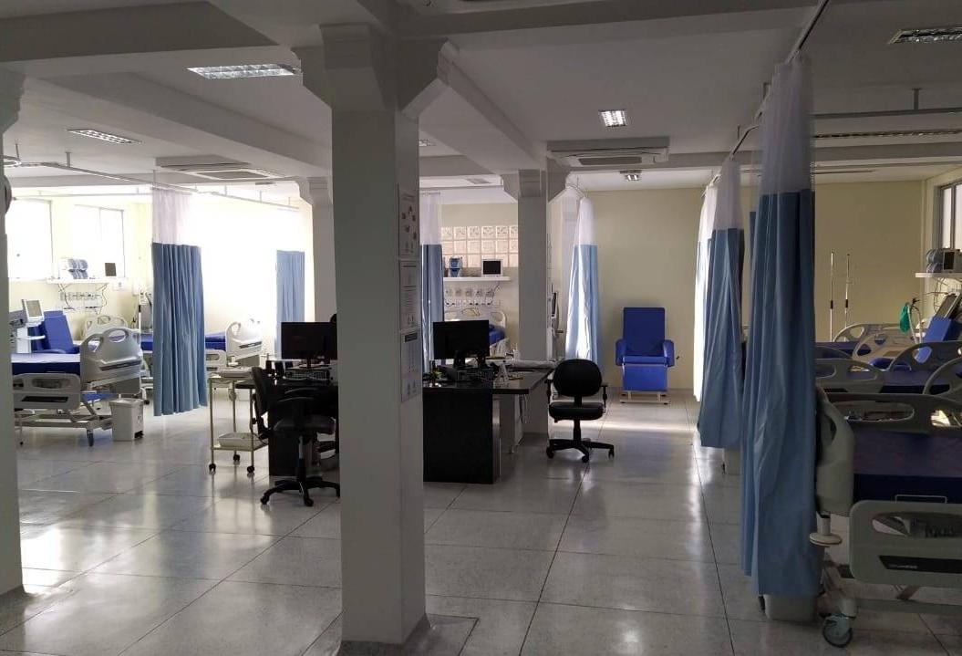 Hospital de Retaguarda: leitos de UTI serão exclusivos para Covid