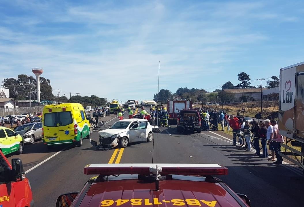 Seis pessoas morreram em acidentes nas rodovias federais