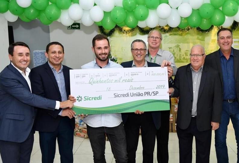 Ganhador dos R$500 mil do Sicredi é de Maringá