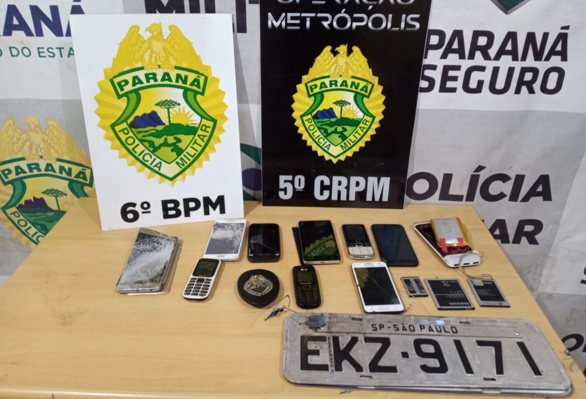 Ação da polícia gera mais de R$ 7 mi de prejuízo ao mundo do crime