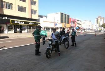 Cettrans realiza ação educativa para motociclistas nesta terça-feira