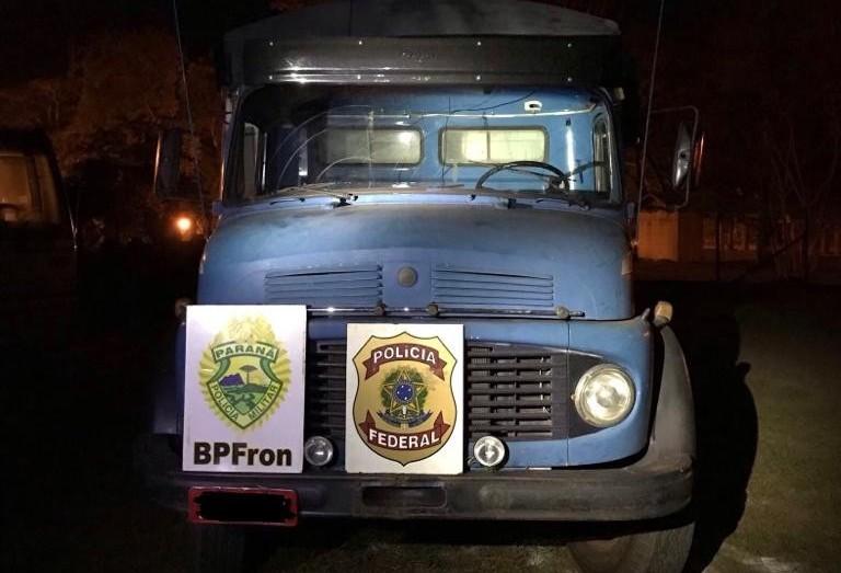 Polícia Federal realiza apreensões no fim de semana