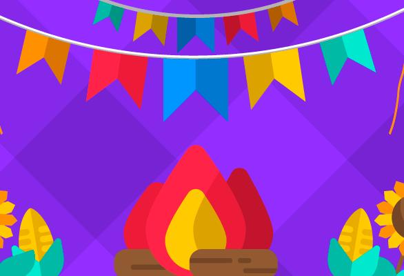 Venda de artigos e comidas típicas de festas caipiras está em alta