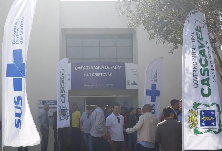UBS São Cristóvão é reformada