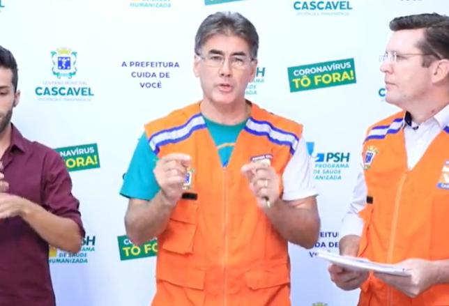 Prefeito de Cascavel autoriza serviço delivery até às 22h