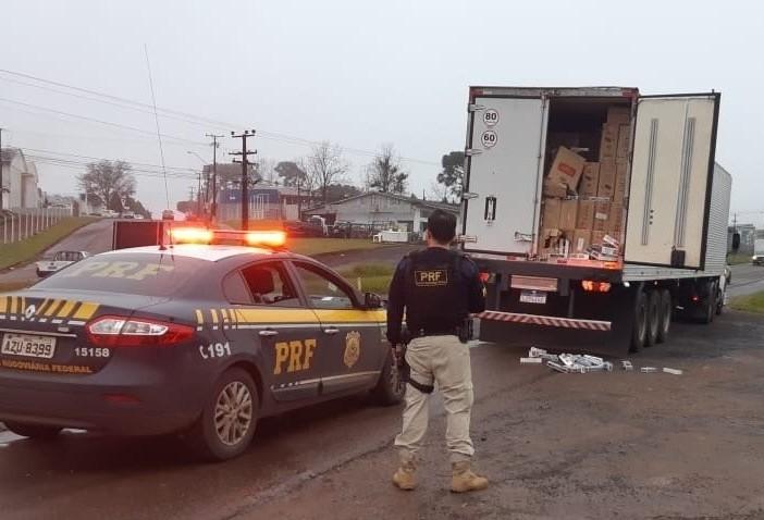 A Polícia Rodoviária Federal apreendeu 14,9 toneladas de drogas em todo o Estado no 1º Semestre