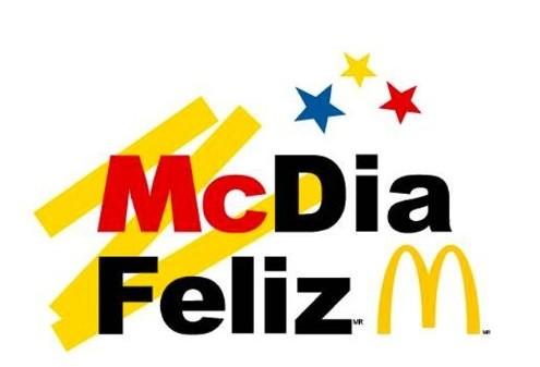 Dia 24 de agosto é dia de McDia Feliz