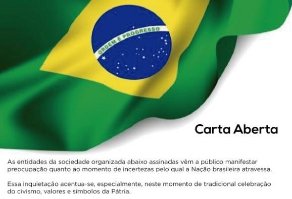Entidades da sociedade organizada divulgam Carta Aberta em Cascavel