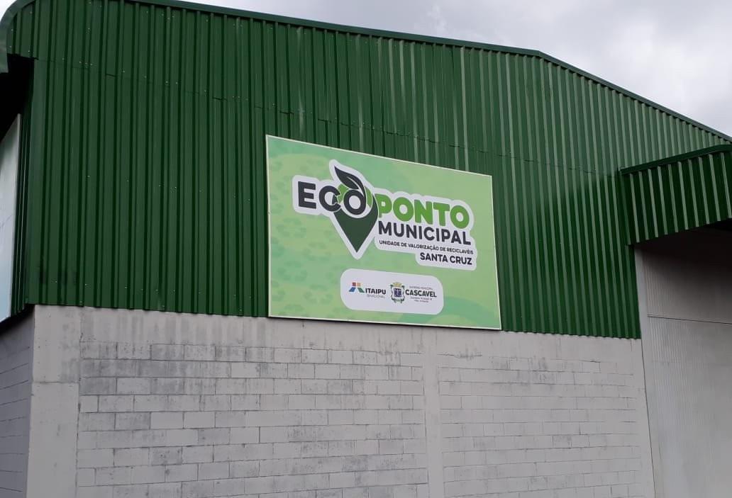 Prefeitura inaugura Ecoponto em Cascavel