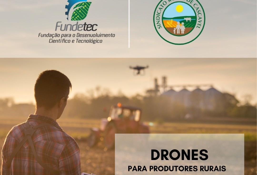 Agrotec: Curso de Operação de Drones começa na segunda-feira