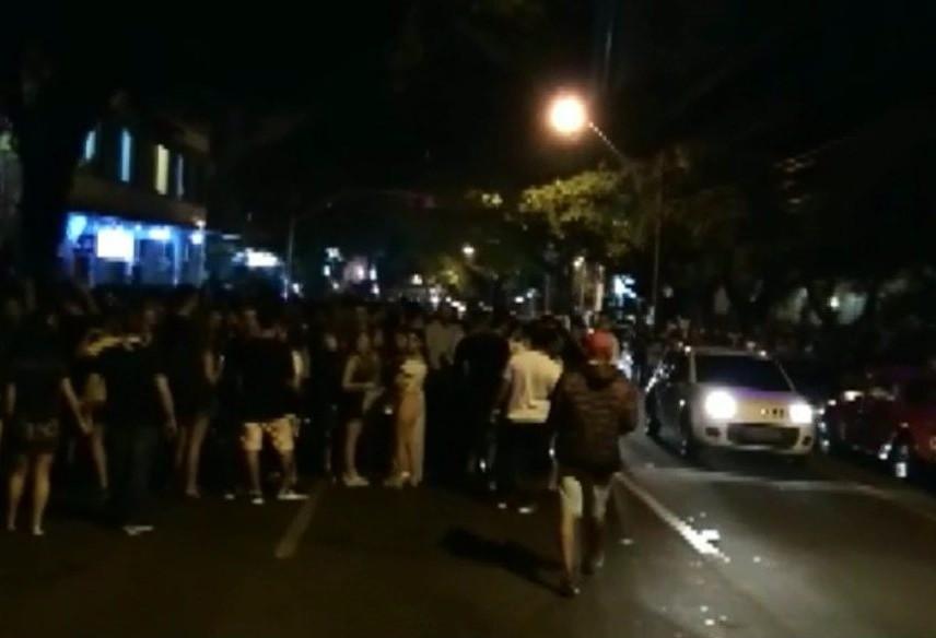 Operação conjunta vai coibir excessos no fim de semana na rua Paraná