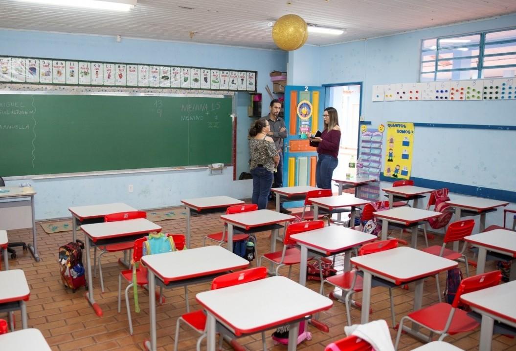 Escola na Estrada Rio da Paz  apresenta problemas estruturais
