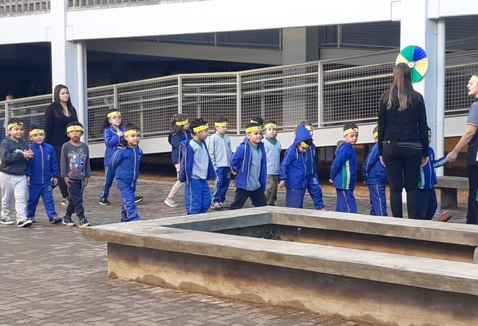 Atividades alusivas ao 7 de Setembro são realizadas nas escolas de Cascavel