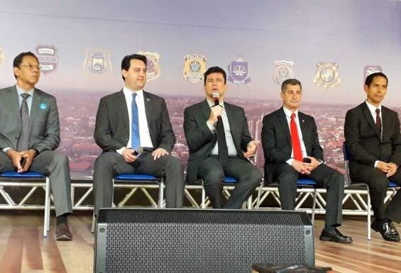 Em São José dos Pinhais, ministro Sérgio Moro exalta resultados de projeto de combate à criminalidade