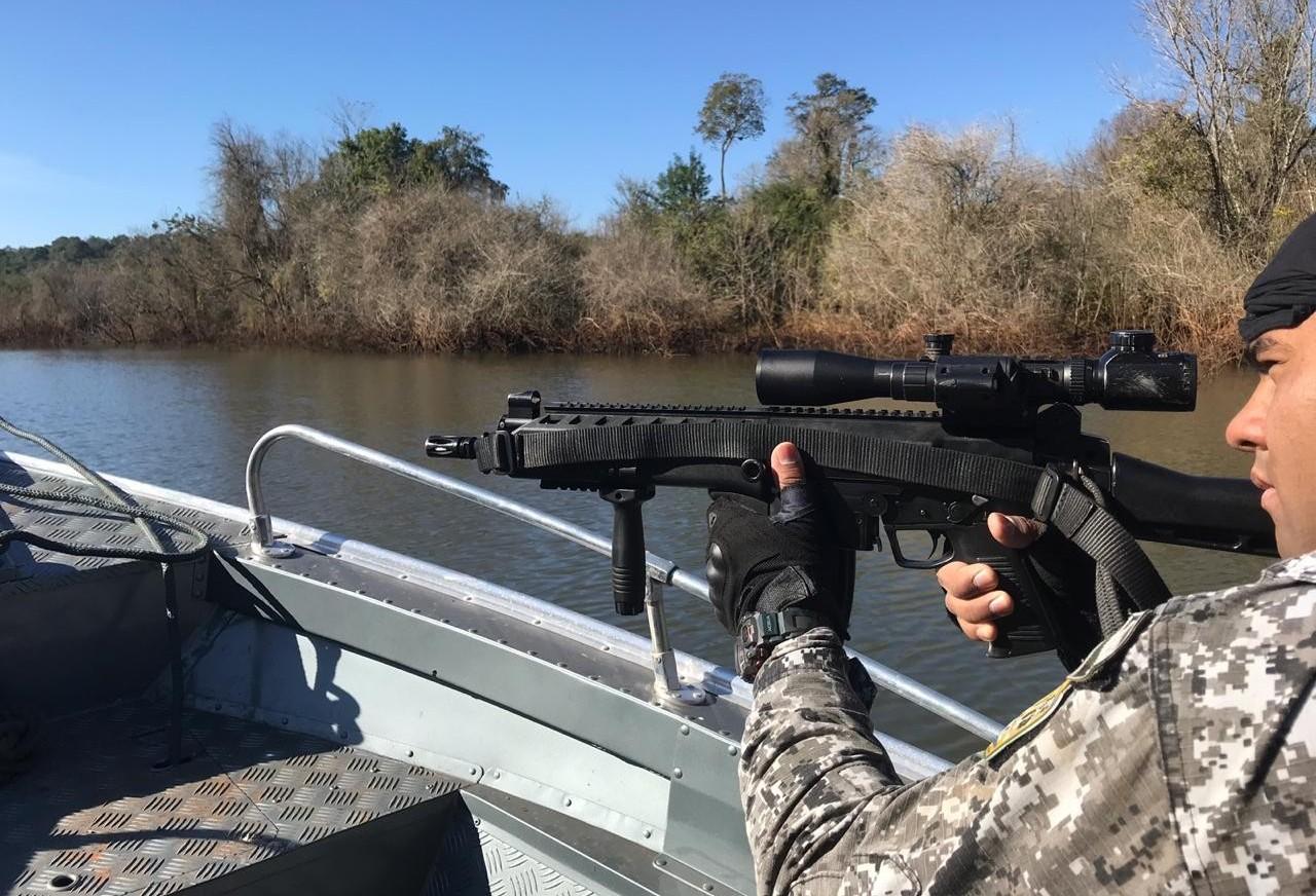Itens de caça irregular são apreendidos em operação