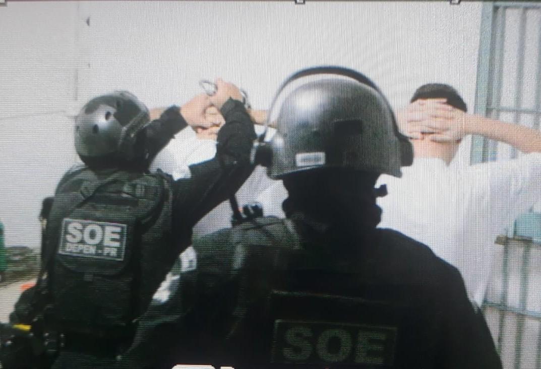Depen leva 60 presos de Toledo para a PEC
