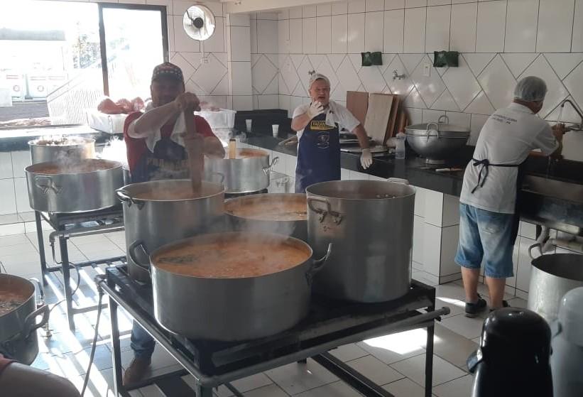 Tradicional buchada: mais de 1,5 tonelada será servida