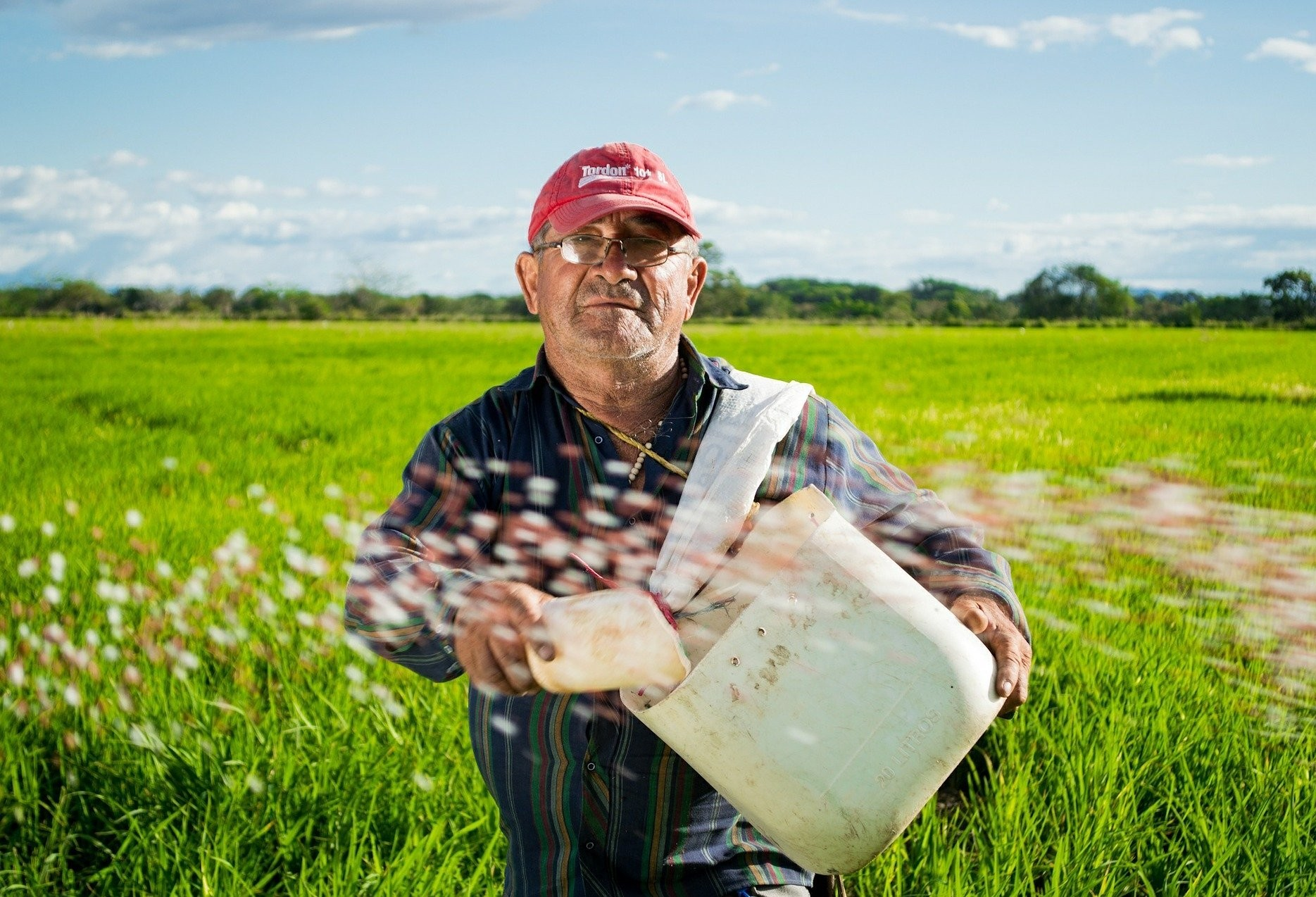 Uma homenagem aos agricultores
