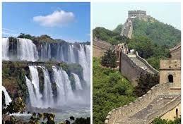 Cataratas e Muralha da China serão promovidas mundialmente em parceria inédita