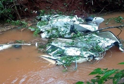 Quatro pessoas morrem vítimas de acidente aéreo na região central do Paraná