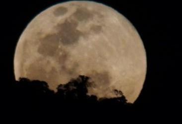 Super Lua poderá ser vista nesta segunda-feira