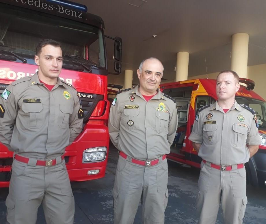Bombeiros de Cascavel contam as experiências vividas no Pará