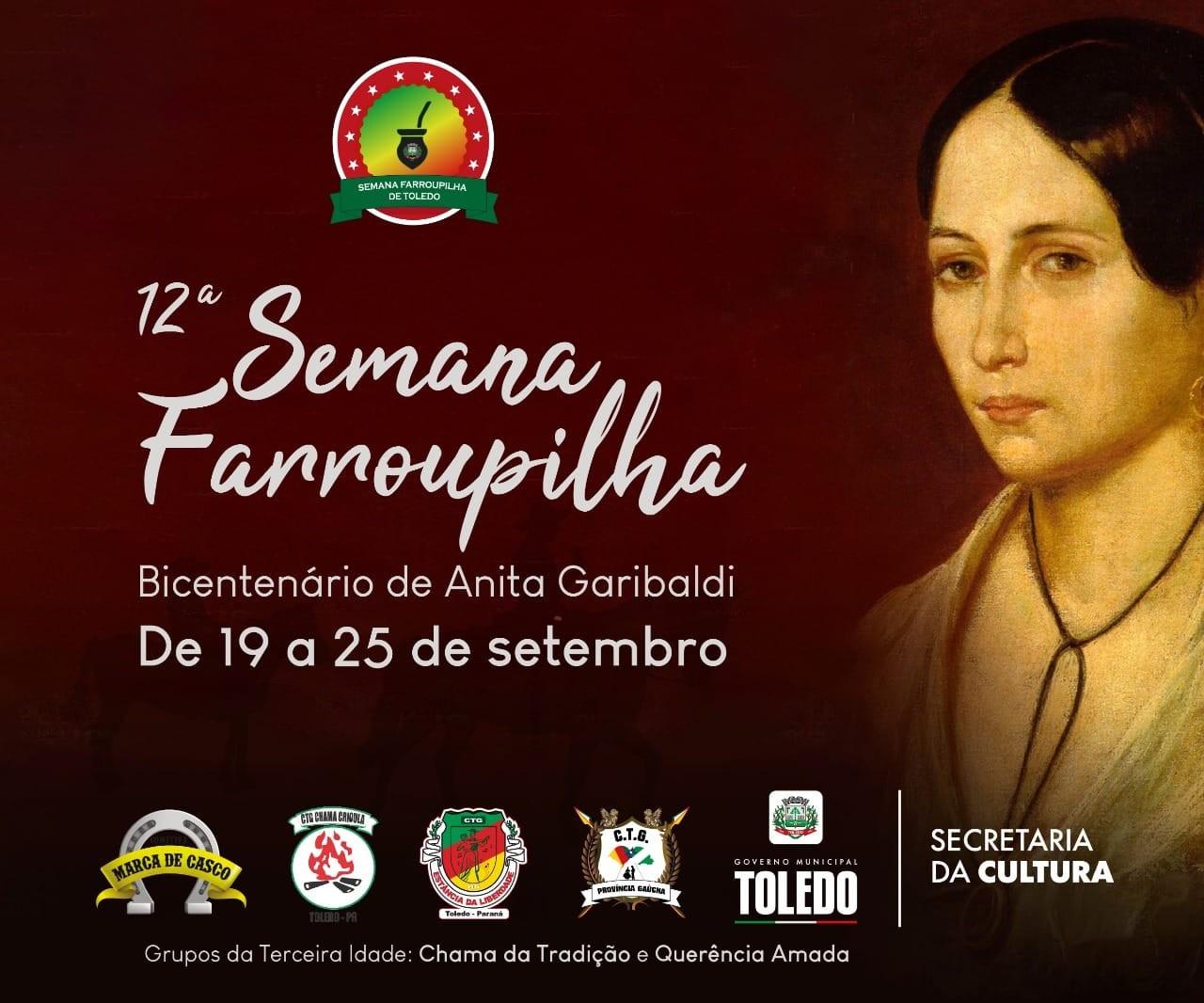 Toledo promove 12ª  Semana Farroupilha