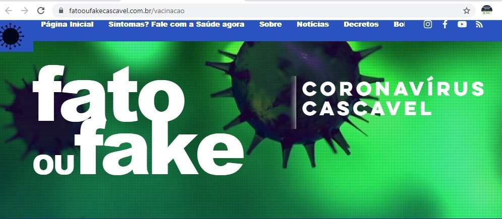 Cascavel é destaque em transparência da vacina contra a Covid-19 em avaliação do Tribunal de Contas