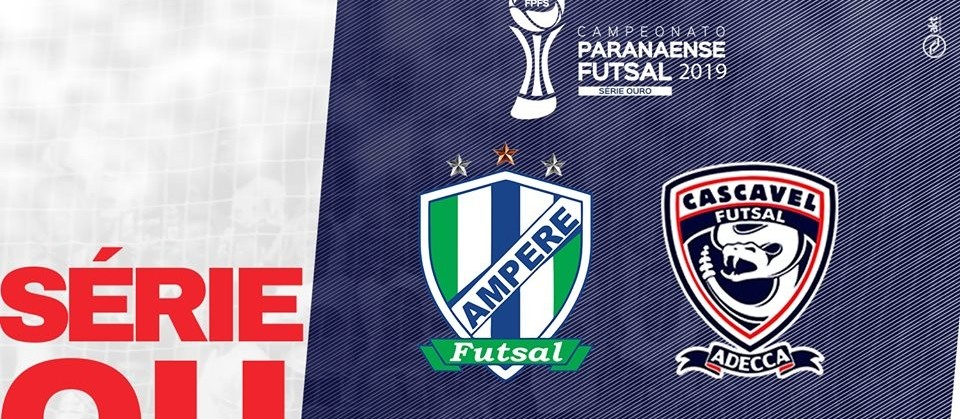 Cascavel Futsal enfrenta o  Ampére nesta quarta