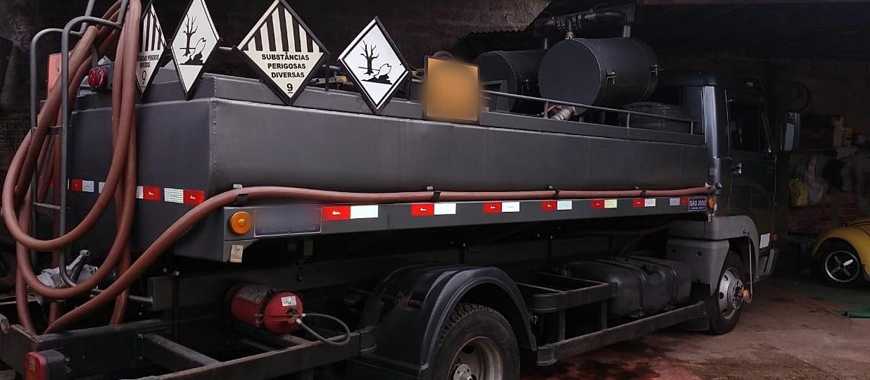 Ação coíbe logística de comercialização de óleo lubrificante contaminado