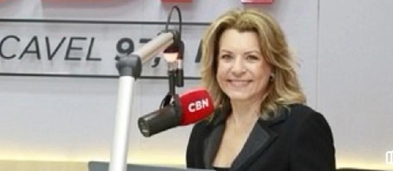Olga Bongiovanni estreia sábado na CBN Cascavel