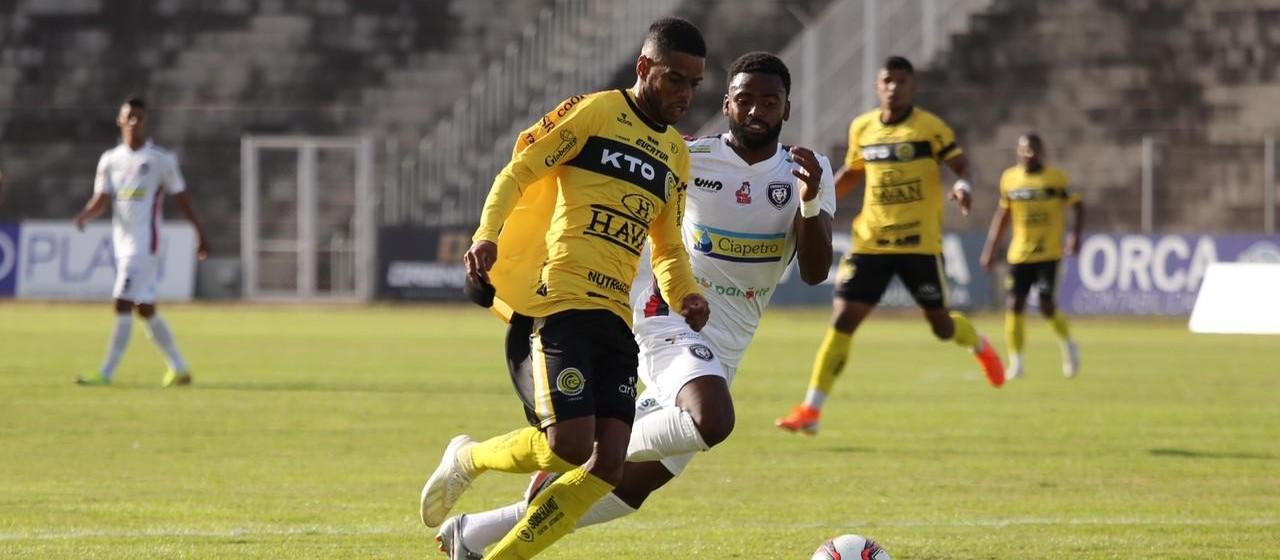 FC Cascavel empata e segue líder, CCR perde e ocupa a laterna